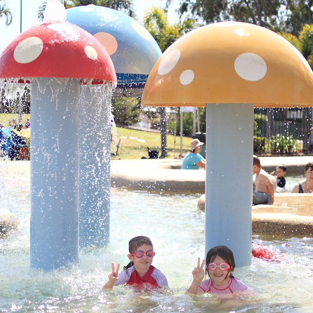 Heated Kids Water Park